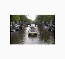 Amsterdam canal boat Unisex T-Shirt