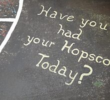 Have you had your hopscotch today? by ashley hutchinson