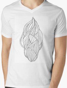 Vision Sculpture Mens V-Neck T-Shirt