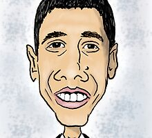 Obama by Ian Moreland