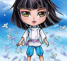 Haku from Spirited Away - chibi 1 by Dacdacgirl