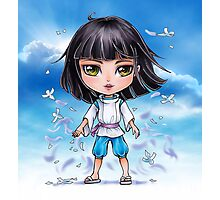 Haku from Spirited Away - chibi 1 Photographic Print