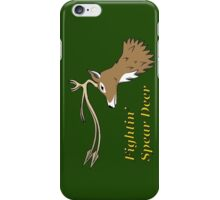 Fightin' Spear Deer iPhone Case/Skin