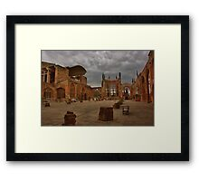 Coventry Cathedral Framed Print