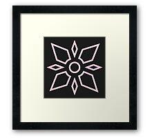 Digimon - Crest of Light Framed Print