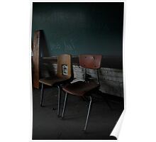 School Chairs Poster