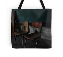 School Chairs Tote Bag