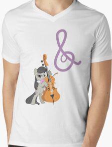 Octavia and Cutie Mark Mens V-Neck T-Shirt