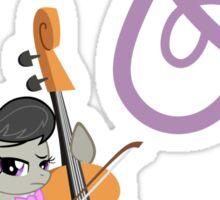Octavia and Cutie Mark Sticker