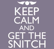 Harry Potter - Keep Calm and Get The Snitch Kids Clothes