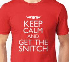 Harry Potter - Keep Calm and Get The Snitch Unisex T-Shirt