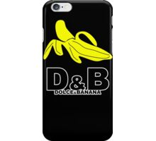 Funny Mens T-Shirt Dolce & banana' Short Sleeve Tee - 100% Cotton, Graphic Tee iPhone Case/Skin