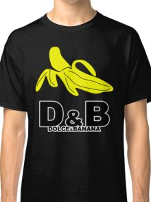 Funny Mens T-Shirt Dolce & banana' Short Sleeve Tee - 100% Cotton, Graphic Tee Classic T-Shirt