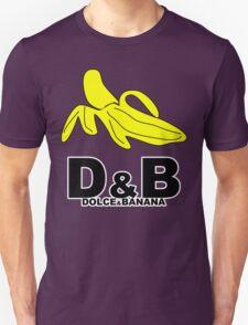 Funny Mens T-Shirt Dolce & banana' Short Sleeve Tee - 100% Cotton, Graphic Tee T-Shirt