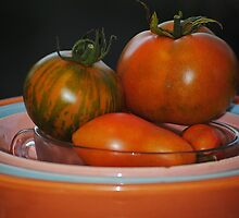 Home Grown Tomatoes by Jonice