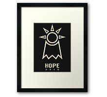 Digimon - Crest of Hope Framed Print
