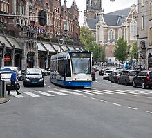 AmsterdamTram  by Keith Larby