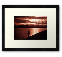 Yukon Evening Framed Print