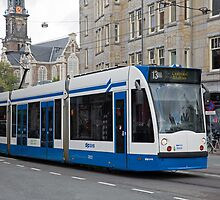 Amsterdam  Tram by Keith Larby
