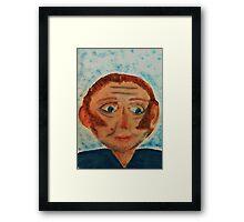 Rick, watercolor Framed Print