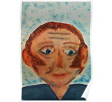 Rick, watercolor Poster