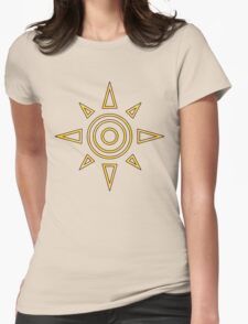 Digimon - Crest of Courage Womens Fitted T-Shirt
