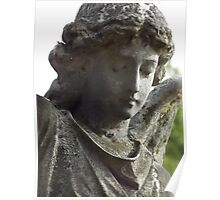 Norwood cemetary: Sculpture: Heavenly Angel -(220811b)- Digital photo Poster