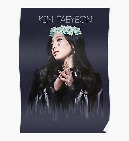 Girls' Generation - Kim Taeyeon Poster