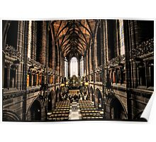 Liverpool Cathedral UK Poster