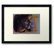 Portraits of Tom Welling, Clark Kent of Smallville Framed Print