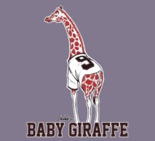 Baby Giraffe Belt Kids Tee