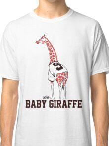 Baby Giraffe Belt Classic T-Shirt