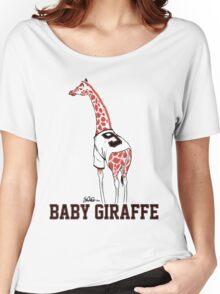 Baby Giraffe Belt Women's Relaxed Fit T-Shirt