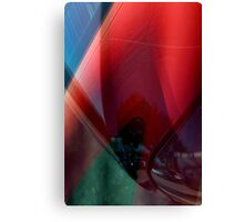 Auto Abstract - Red (02) Canvas Print