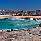 Maroubra Beach by Liz Percival