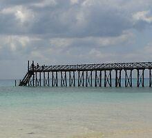 Prison Island Pier by KelShel