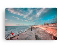 Waiting For The Big One Canvas Print