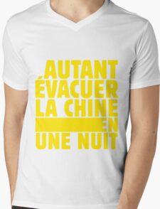 Punchline 1 Mens V-Neck T-Shirt