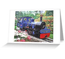 exbury steam railway 10th anniversary  Greeting Card