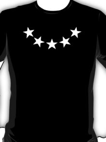 5 Star fashion design sign party T-Shirt