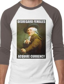 Disregard Females, Acquire Currency Men's Baseball ¾ T-Shirt