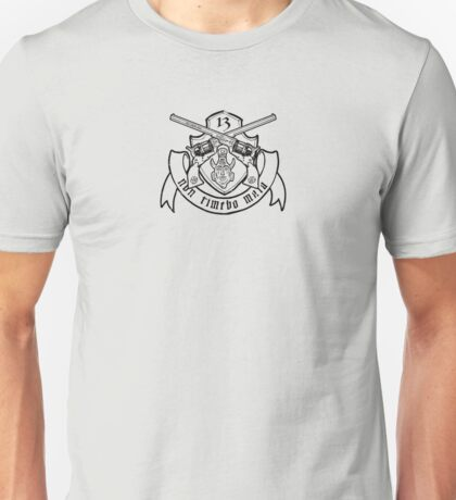 Non Timebo Mala (Black Crest) Unisex T-Shirt