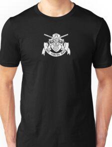 Non Timebo Mala (White Crest) Unisex T-Shirt