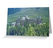 Banff Springs Hotel, Alberta, Canada Greeting Card