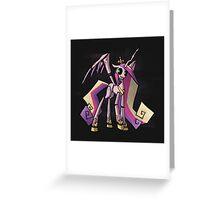 My Little Pony - MLP - FNAF - Princess Cadence Animatronic Greeting Card