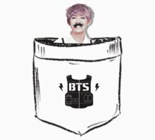BTS/Bangtan Sonyeondan - Pocket V (Kim Taehyung) Kids Tee