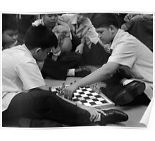 chess fun with my students Poster