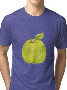 green apple Tri-blend T-Shirt