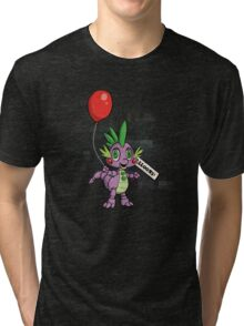 My Little Pony - MLP - FNAF - Spike Animatronic Tri-blend T-Shirt