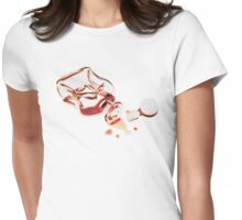 Empty...  Womens Fitted T-Shirt